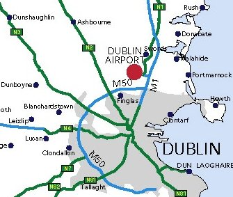 Cheap-flights from Manchester to Dublin