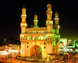 Charminar temple in Hyderabad